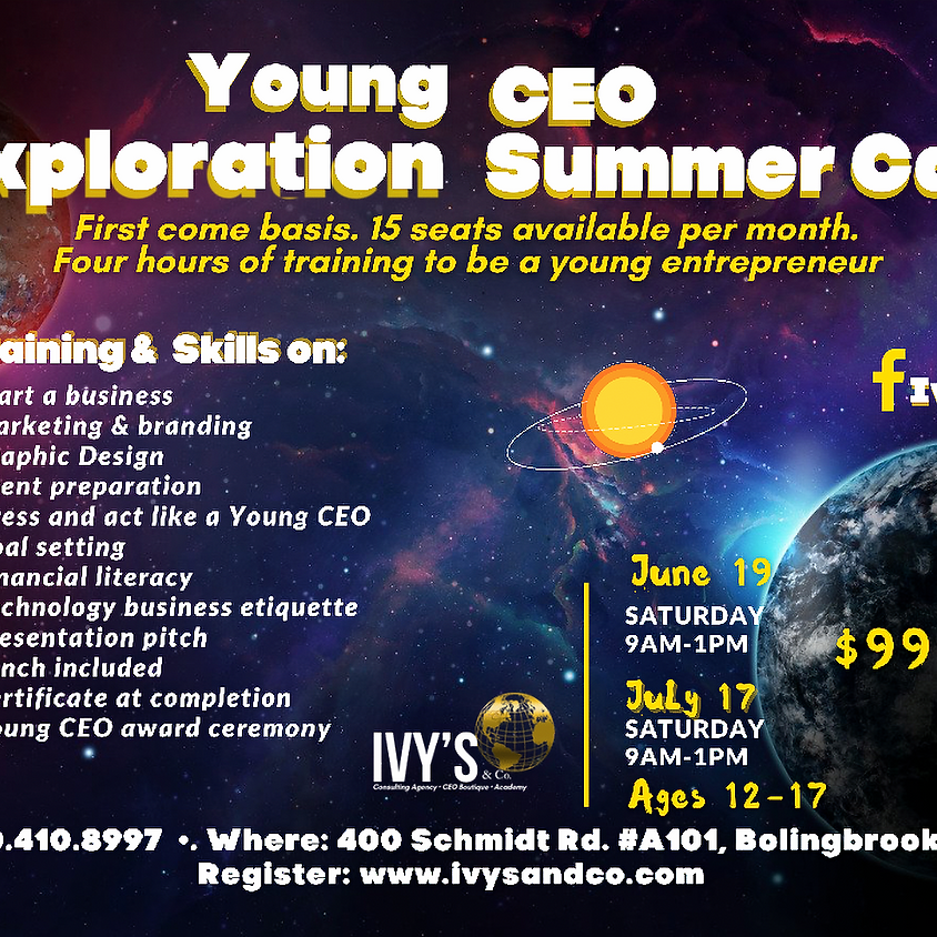 Young CEO Exploration Summer Camp (June)