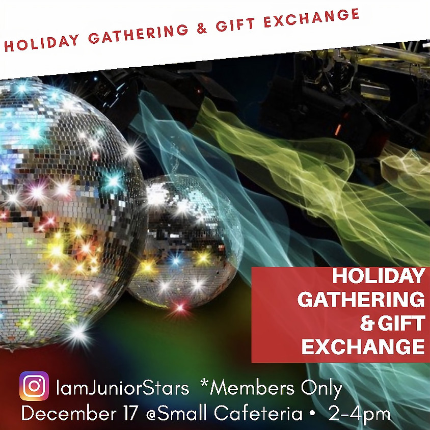 Holiday Gift Exchange Event Info