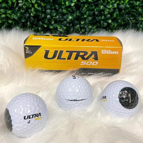 Branded Ultra Golf Balls