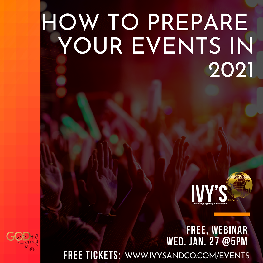 BUSINESS: How to prepare events in 2021