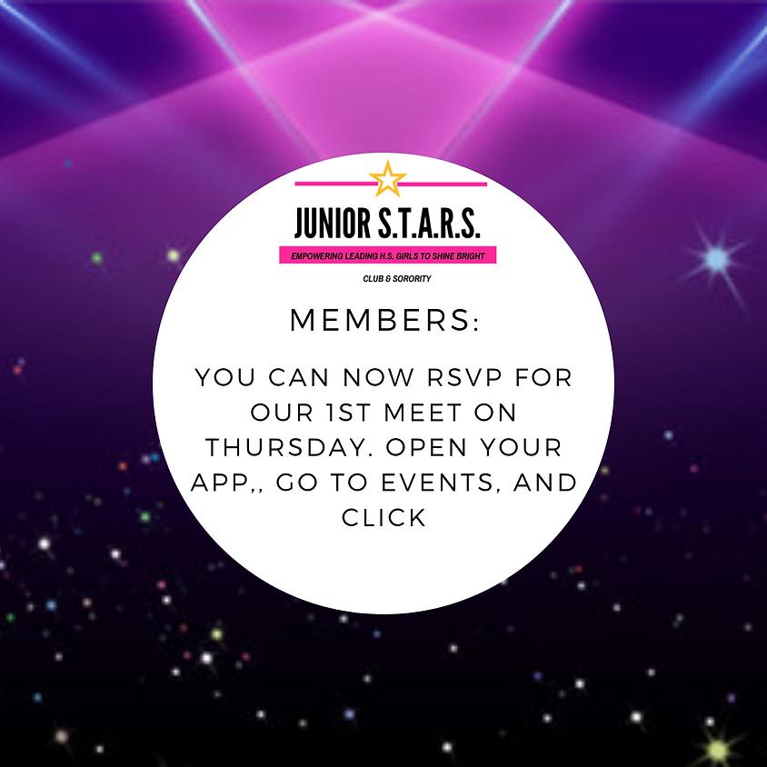 1st Meet up- Thursday Aug. 29th • Room C113