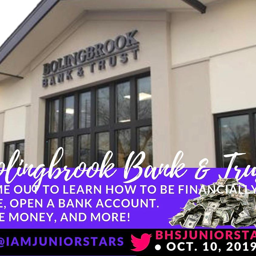 Financial awareness w/ Bolingbrook Bank & Trust