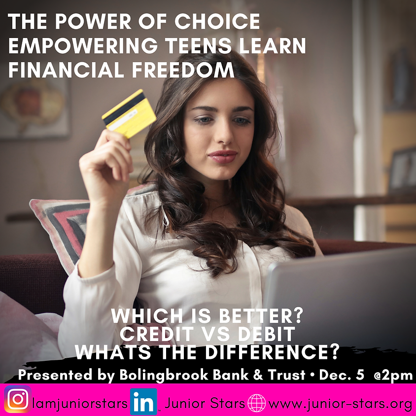 Financial Freedom: Credit vs. Debit