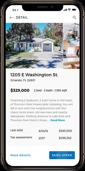 Appgent Real Estate App - Send Offer.png