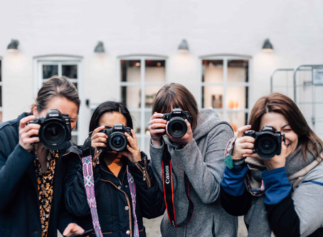 Forening for Danske Fødselsfotografer  2020 Kick-off (Karina, Lili, Nataly, Eva)