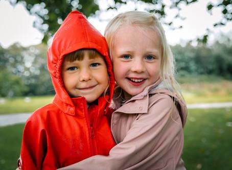 Børnehavefotografering på en frisk måde