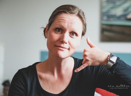 On-call life - at vente på et meget vigtigt opkald (Fødselsfotograf Eva Walther Horsens)