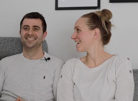 Dianna & Michel om deres oplevelse med fødselsfotograf Eva Walther