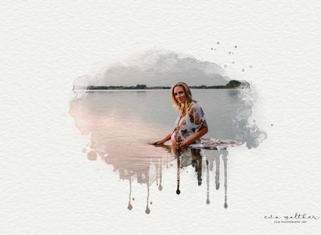 Nyhed Watercolor Portræt (Fotograf Eva Walther Horsens)