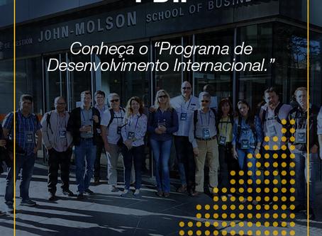 Conheça o Programa de Desenvolvimento Internacional