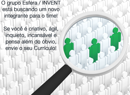 Venha ser parte do time Esfera / INVENT