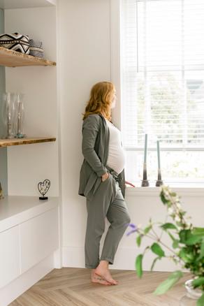 Stacey zwangerschap