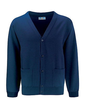 Middle School Navy Sweat Cardigan