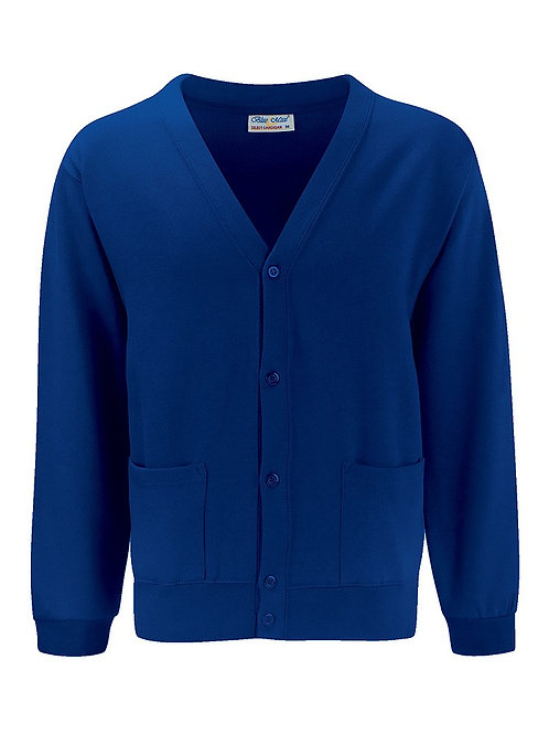 Lower School Royal Sweat Cardigan