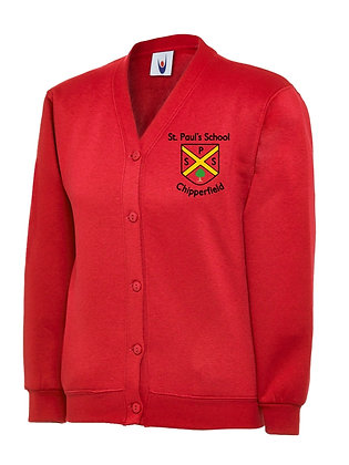 ST PAUL'S JERSEY CARDIGAN