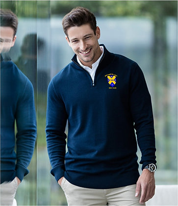 BATCHWOOD KNITTED 1/4 ZIP