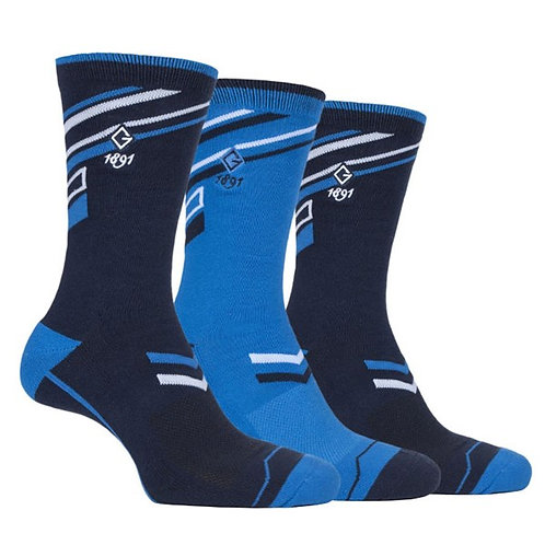 GLENMUIR 3PK GOLF SOCK