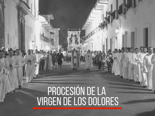Anotaciones sobre la Procesión del Viernes de Dolores