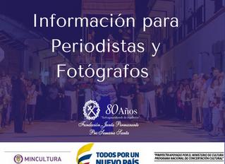 Acreditación periodista y fotógrafos procesiones Semana Santa 2018