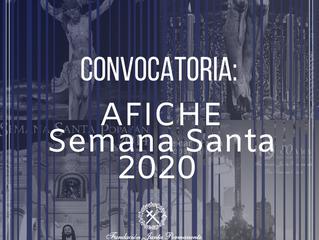 Convocatoria afiche promocional Semana Santa 2020