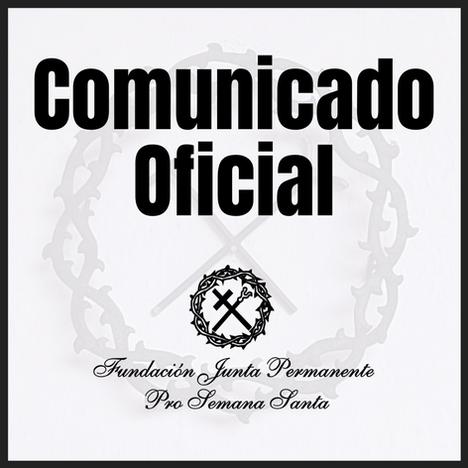 Comunicado Oficial Semana Santa 2021