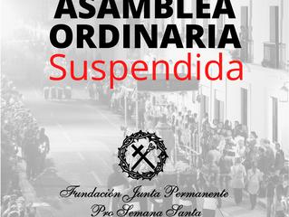 COMUNICADO - Semana Santa 2020 No. 3