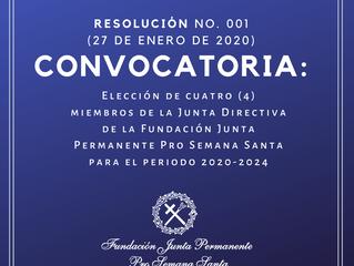 Convocatoria: Nuevos miembros de la Junta Directiva de la F.J.P.P.S.
