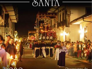 'Tradición que no se detiene': afiche promocional procesiones de Semana Santa 2020