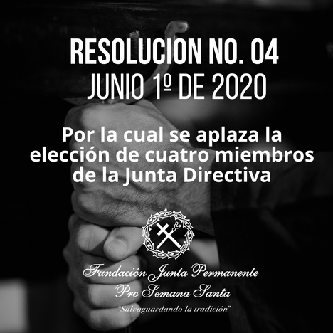 RESOLUCIÓN No. 04 Junio 1º de 2020