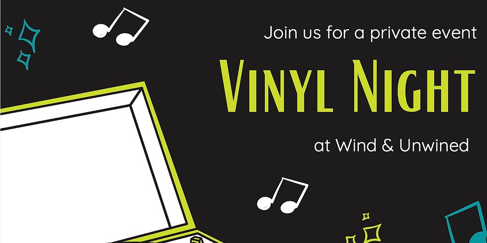 Vinyl Night at Wind & Unwined
