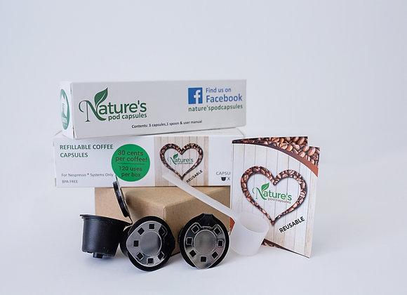 Nature's Pod Capsules (3 pack)