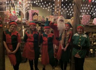 Visit Santa in Suffolk at Kersey Mill