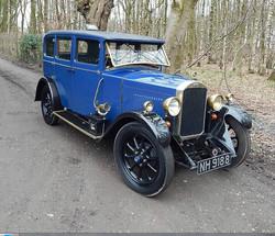 1929 Humber 9 28 saloon