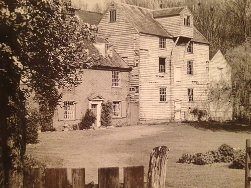 A historic pic of Kersey Mill