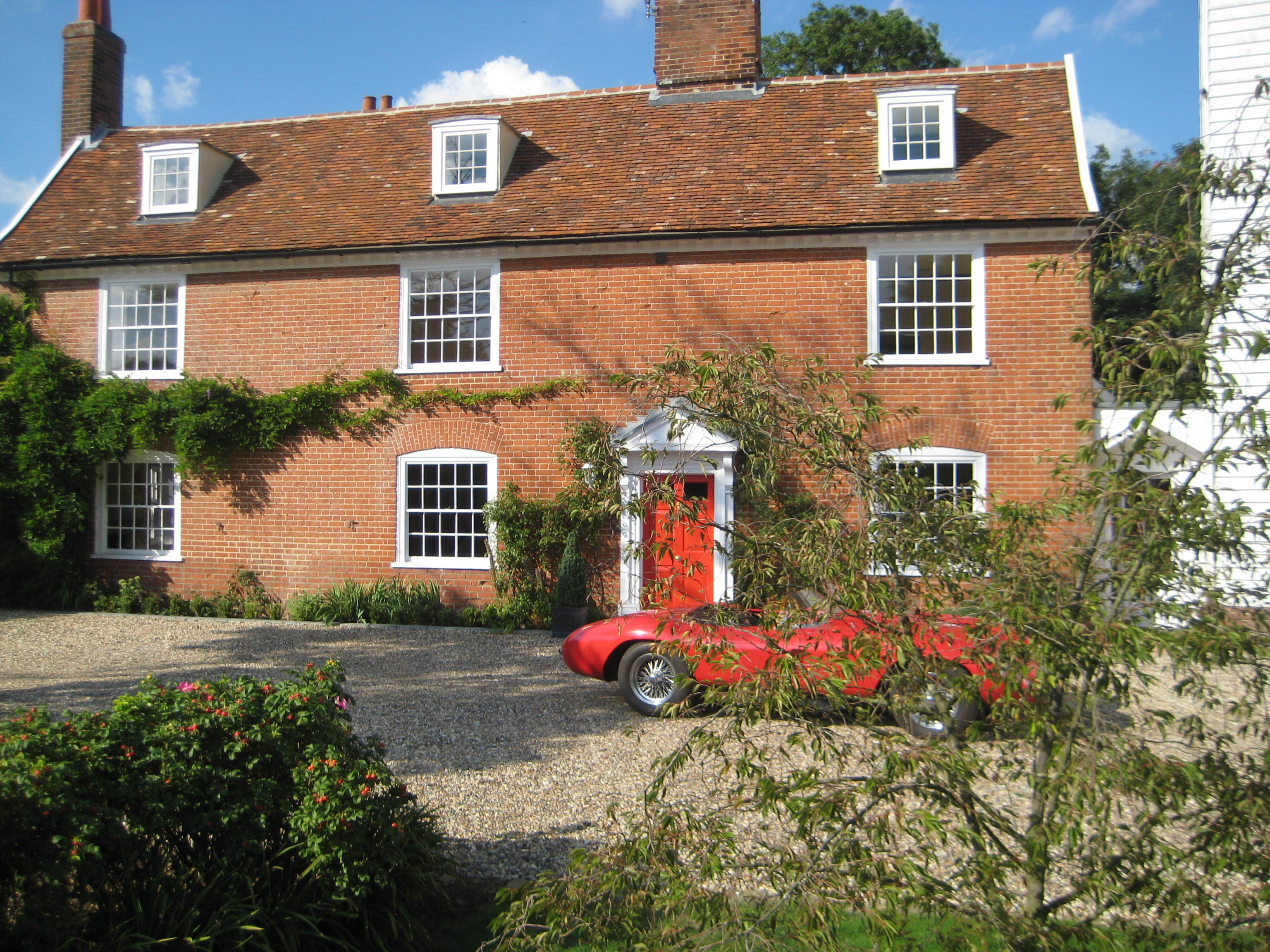 Kersey Mill view of the house