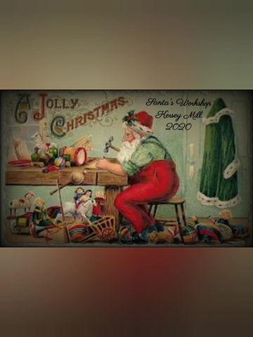 Visit Santa's Workshop Kersey Mill Suffolk