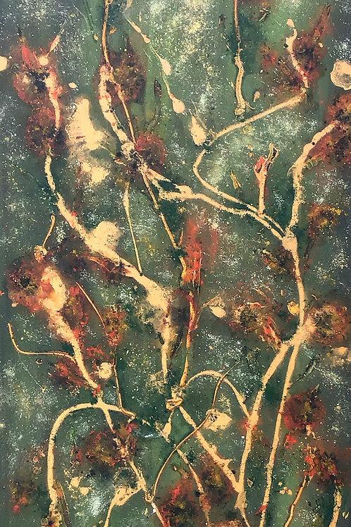 Rustic Bloom  101x40cm