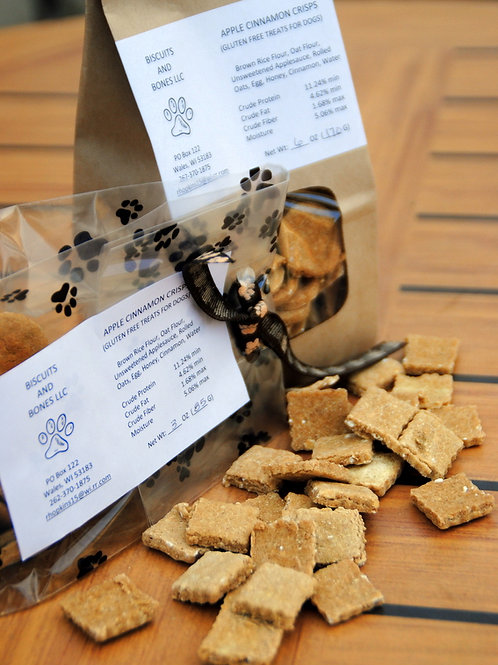 Apple Cinnamon Crisp (gluten free)