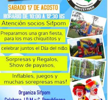 Fiesta dia del Niño de SIFPOM