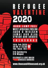 Refugee Valentine 2020