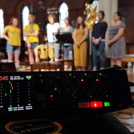 Veda Slovena Recording