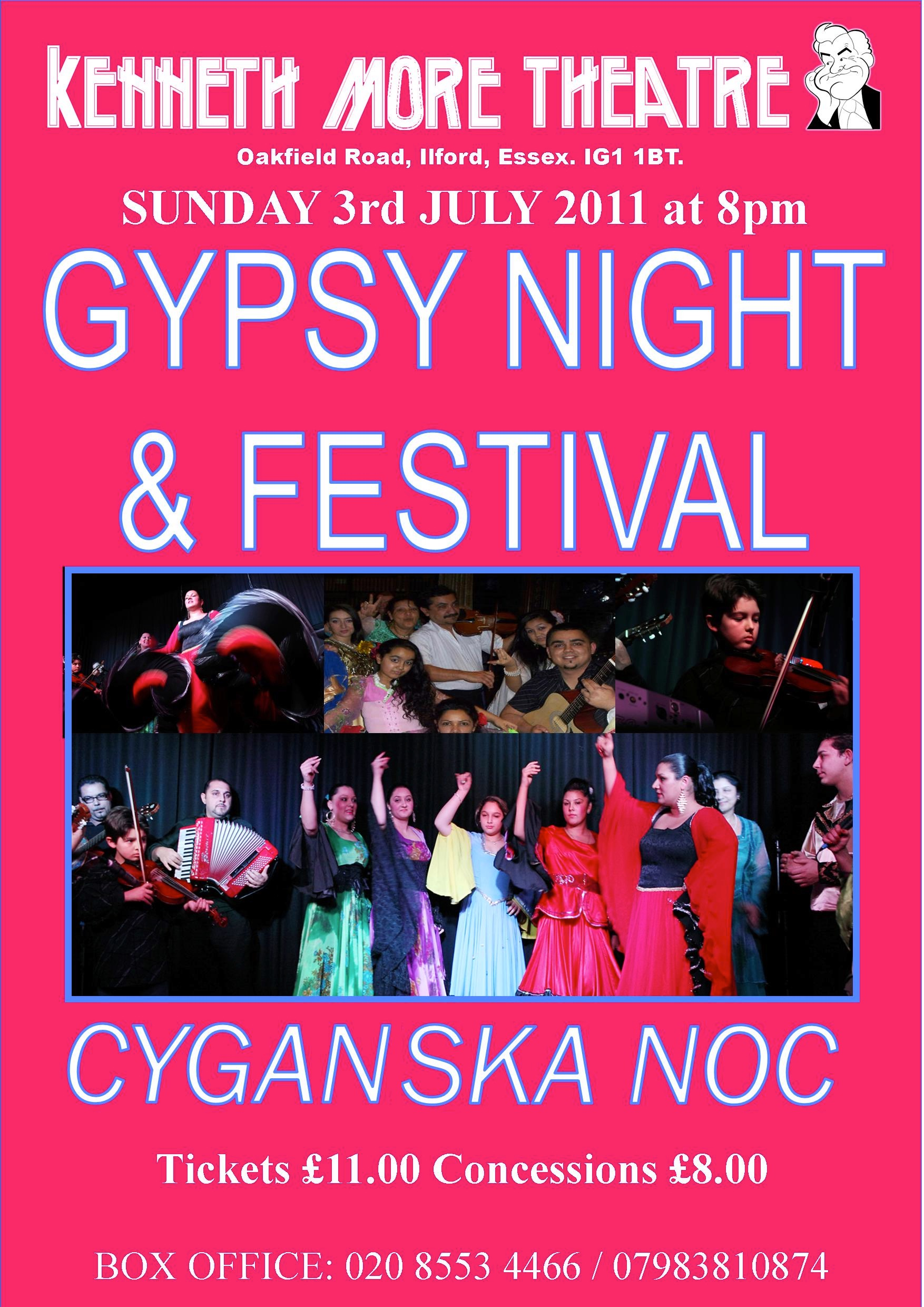 Gypsy Night, Illford, 2011