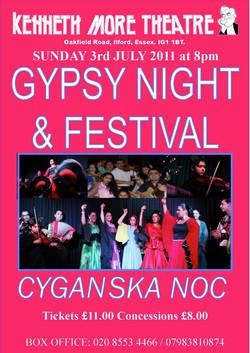 Gypsy Night, Illford, 2011
