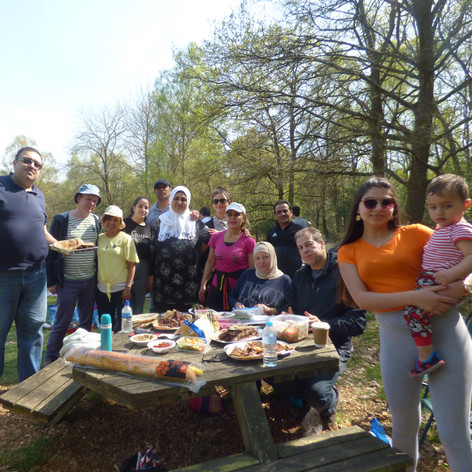 Picnic with Syrian Friends