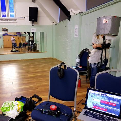Eugenia recording session