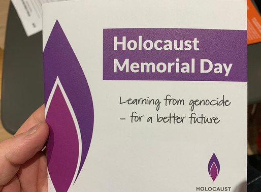 Standing Together, Lewes Holocaust Memorial Day Concert.