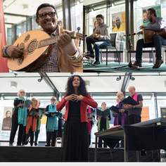 International Music Afternoon @ Jubilee Library, Brighton. 9th October.