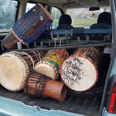 Bakk Lamp Fall drums