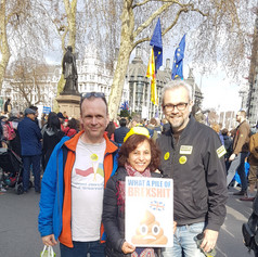 A day off at the Peoples Vote March