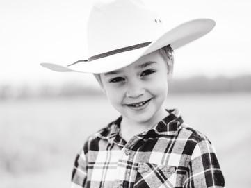 The Cutest Child// B&W Portraits